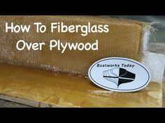 Learn all the tricks of the trade from a 40 year veteran. Learn how to gel coat, get the air out of a laminate, which is the right roller. Secret tricks of w...