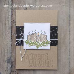 Stampin Up, Freude im Advent, 5 Tage, 5 Karten