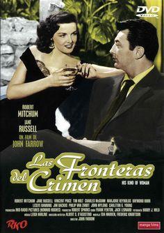 Las fronteras del crimen (1951) EEUU. Dir: John Farrow. Cine negro. Suspense. Mafia. Comedia - DVD CINE 892