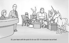 ICD-10 Jokes | icd-10-cartoon