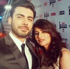83982d60eb2 Fawad Khan started acting for his girl friend turned wife