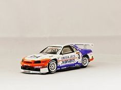 F.toys 1/64 Ratio Collection Nissan Skyline GTR R34 BNR34 JGTC 1999 Xanavi Car