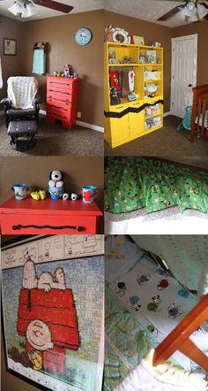 Peanuts Themed Nursery!