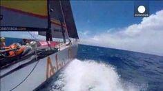 El 'Dongfeng' logra pequeña ventaja en la cuarta etapa de la Volvo Ocean Race