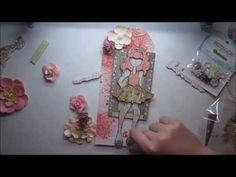 Prima Doll Stamp Tag Tutorial 'Moments' for My Creative Scrapbook