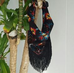 Fringe bandanna Custom designed.  Brand for exposure. Free People Accessories