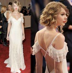 Vestido novia Taylor Swift