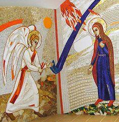 La Anunciación Cappilla del Centrum Aletti de Olomouc. Repubblica Checa
