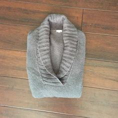 Grey sweater J crew says xs but would easily fit a small as well J. Crew Sweaters