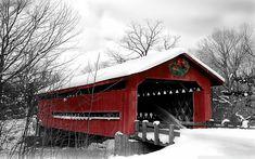 lovely old covered bridge~
