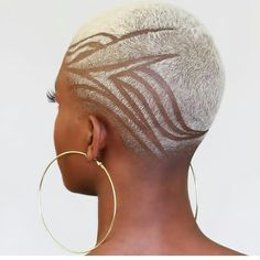 25 Stylish and Modern Short Hairstyles for Black Women Natural Hair Short Cuts, Short Hair Cuts, Natural Hair Styles, Shaved Natural Hair, Shaved Hair Women, Shaved Hair Cuts, Shaved Head, Short Hair Designs, Shaved Hair Designs