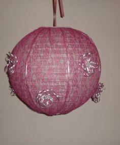 φωτιστικό οροφής δαντελλα περλα 40 εκ Table Lamp, Ceiling Lights, Pendant, Paper, House, Home Decor, Ideas, Table Lamps, Decoration Home
