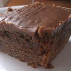 Double Chocolate Coca Cola Cake... This o e is for you Karin miner! (Mom) ;)