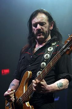 """Ian """"Lemmy"""" Kilmister, the Motorhead frontman whose outsized persona made him a hero for generations of hard-rockers and metal-heads, has died. Hard Rock, Judas Priest, Music Love, Music Is Life, Heavy Metal, Pose, Thin Lizzy, Tribute, Rock N Roll Music"""