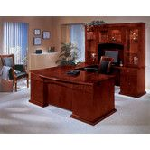 Found it at Wayfair - DMi Del Mar Executive U-Shape Bow Front Desk with Right Return
