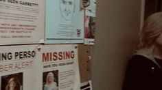 "ehanneri:  - missing person walks into a police station  - is side by side next to their 'missing' poster - ""I think you've been looking for me?"""