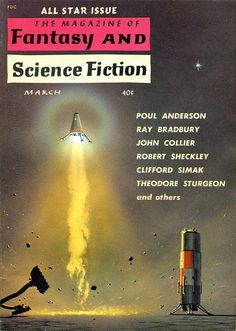 scificovers:  The Magazine of Fantasy and Science Fiction...