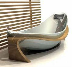 This bathtub design by Marco Tallarida won the Bathroom Innovation Award in 2008
