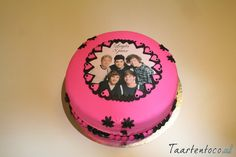 One Direction Taart  *One Direction Cake