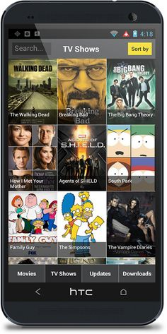 Show Box app! Free Movies and TV-shows on your Android device, watch every episode of your favorite shows and tons and tons of movies new and old! !!