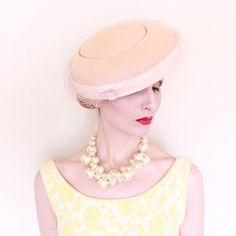 Image result for 1950s  hat pastel