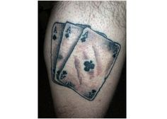 Playing Cards Tattoo-Prison Tattoos And Their Meanings