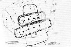 plan d'une ferme étable