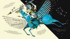 Greek Myths - Lesley Barnes Illustration