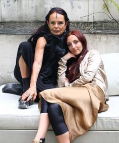 Rick Owens' Wife Has A Truly Unique Style Relationship With Her Daughterhttp://www.refinery29.com/2013/12/59081/michele-lamy-daughter?utm_source=facebook.com&utm_medium=post