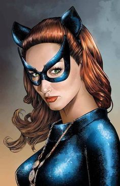 Catwoman by Mike S. Catwoman Comic, Catwoman Cosplay, Batman And Catwoman, Batman Comics, Dc Comics Girls, Fun Comics, Batwoman, Batgirl, Catwoman Selina Kyle