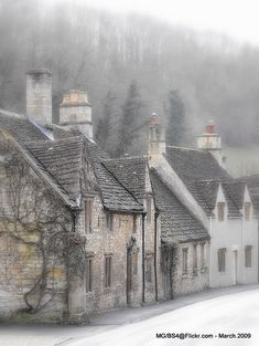 Castle Combe has been called 'The Prettiest Village in England' and with good reason. Visitors have been coming to enjoy its charms for at least a century, and the small street leading from the Market Cross down to the By Brook is a picturesque today as is ever was.