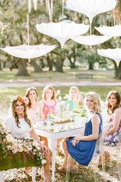 Bridal Shower Menu, Outdoor Bridal Showers, Wedding Shower Favors, Small Bridal Bouquets, Bridal Bouquet Blue, Wedding Bride, Wedding Blog, Wedding Attire, Spring Wedding