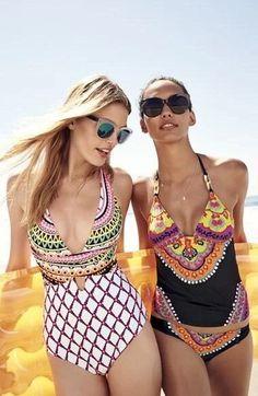 b68827e49f39c NWT $172 Sz 6 TRINA TURK Nuevo Sol Tankini Set W/ Shirred Hipster Bottom