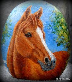 pet portraits, hand painted rocks, equestrian art,horse paintings, animals, art