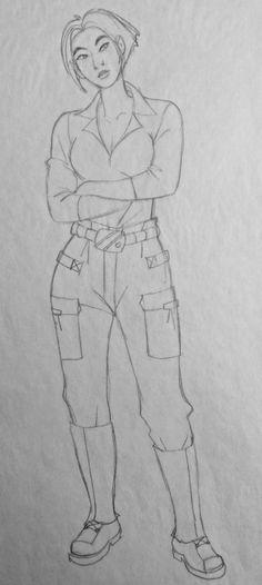 Film: Titan AE =====  Character: Akima (Design #3)