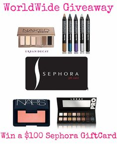 Hello Miss Niki: Worldwide Group Giveaway -- WIN a $100 Sephora GiftCard