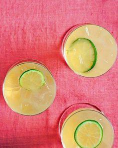 Ginger-Lime Soda Recipe