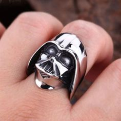 Darth Vader ring - Perfect for a Valentine's Day Gift!