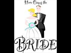 here comes the bride wedding song - totally traditional.  Haven't heard it used in a long time, it's a fave.