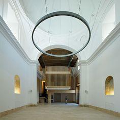 Rehabilitación-Adaptación de Capilla del s. XVI. Location: Brihuega, Guadalajara, Spain; architect: Adam Bresnick Arquitectos
