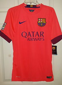 2cb96aaecfd 2016-17 Nike FC Barcelona Men s Home Long Sleeve Soccer Jersey XL Barca for  sale online