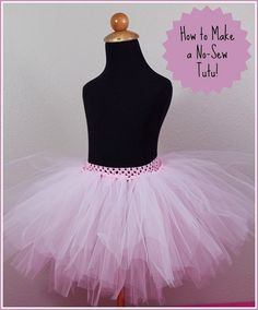 How to Make a Tutu - I think this would work better than the other methods I have tried.