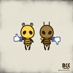 Bee Oppsite 001 - 020 by Chow Hon Lam, via Behance