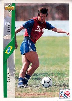 Brasil 1994 ganadores de la Copa del Mundo Fútbol Trading Cards