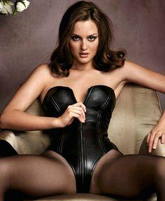 Leighton Meester Hot | Leighton Meester – Hot In Leather