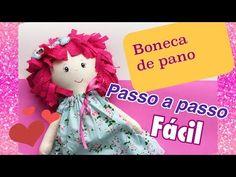 (1) BONECA de Pano FÁCIL passo a passo - YouTube