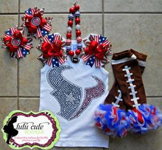 Houston Texans NFL Inspired Football Team by TutuCuteBoutiqueEtsy, $90.00