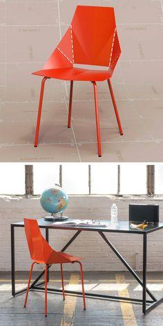 Origami chair / blu dot