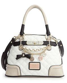 GUESS Handbag, Amour Small Dome Satchel @ Macy's