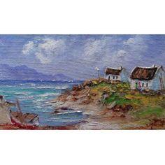 Landscapes, Cottage, Painting, Art, Paisajes, Art Background, Scenery, Cottages, Painting Art